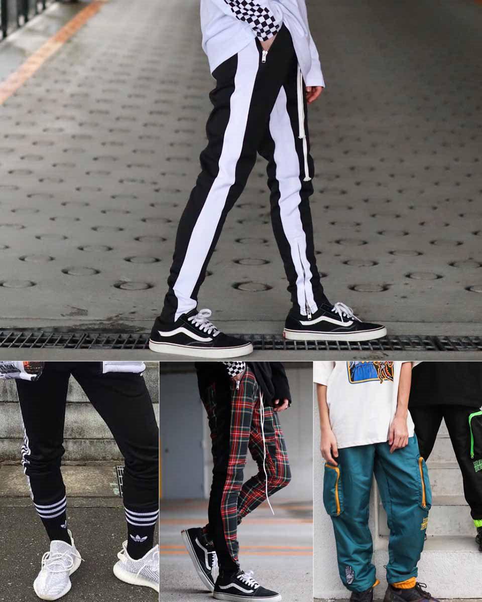 旅行で使えるストリート系パンツの画像